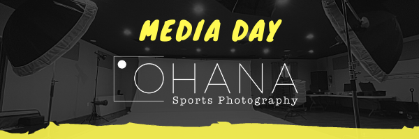 OHANA Sports Photography College Media Day Photography and Videography